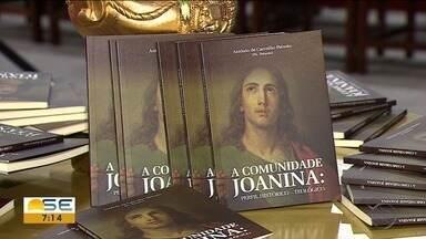 Padre Peixoto lançou livro em Aracaju - Obra fala sobre a Comunidade Joanina.