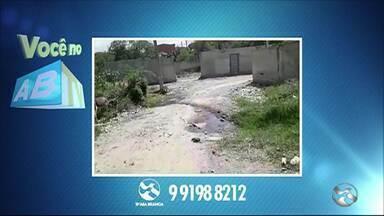 Você no ABTV mostra problemas em Caruaru e Cupira - Moradores reclamam da falta de água e esgoto estourado.