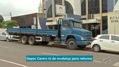 Prédio da Depac Centro vai passar de reforma e atendimento será feito em outra delegacia - Trabalhos vão ser realizados na 2ª DP, no Monte Castelo.