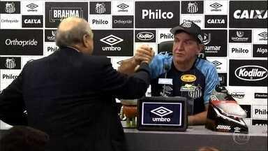 Cuca anuncia saída do Santos antes de enfrentar Atlético-MG - Cuca anuncia saída do Santos antes de enfrentar Atlético-MG