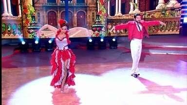 Viviane Araújo relembra participação no Dança dos Famosos - Nicolas Prattes também relembra sua participação