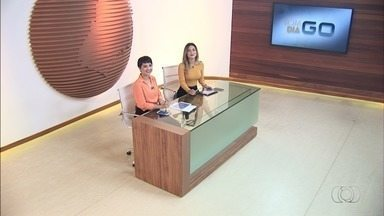 Veja o que é destaque no Bom Dia Goiás desta segunda-feira (26) - Entre os principais assuntos estão acidentes graves no estado.