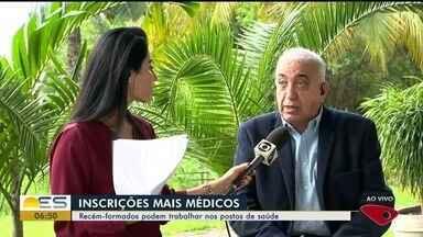 Mais Médicos: recém-formados podem trabalhar nos postos de saúde do ES - Cursos de Medicina anteciparam formaturas para que recém-formados possam participar.