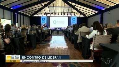 Econtro de Lideranças discute planejamento político e econômico para 2019 - Evento aconteceu em Pedra Azul.