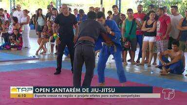 Competição de jiu-jitsu reúne atletas de Santarém e mais seis cidades do Pará - A competição ocorreu no domingo (25).