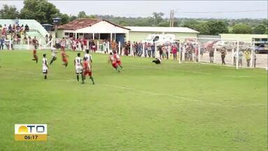 Força Jovem derrota União e conquista espaço na 1ª divisão do Tocantinense - Força Jovem derrota União e conquista espaço na 1ª divisão do Tocantinense