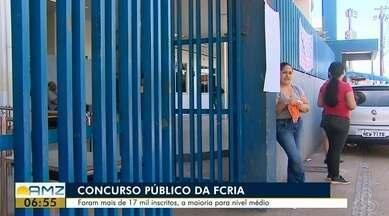 Concurso público da FCRIA tem mais de 17 mil candidatos inscritos no certame, no AP - Gabarito está previsto para ser divulgado ainda hoje no site da Fundação Carlos Chagas.