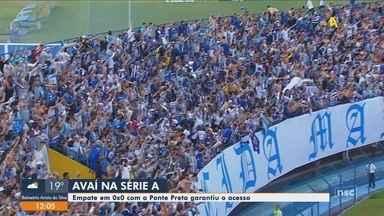 Roberto Alves comenta acesso do Avaí a Série A - Roberto Alves comenta acesso do Avaí a Série A