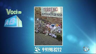 Você no ABTV mostra problemas em Caruaru - Moradores reclamam da falta iluminação.