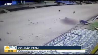 Motociclista que causou acidente em Marabá passa por audiência de custódia, em Marabá - Acidente deixou uma pessoa morta