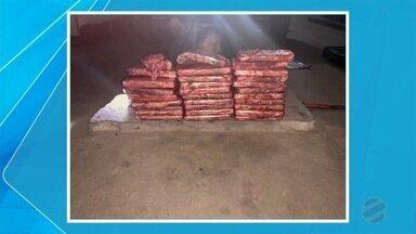 PRF apreende quase 15 kg de cocaína - Apreensão foi no posto Guaicurus, em Miranda.