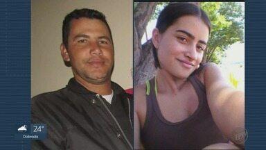 Polícia procura o homem que teria atirado duas vezes na ex-mulher em Cristais Paulista, SP - Vizinhos contaram que ele não aceitava o fim do relacionamento.