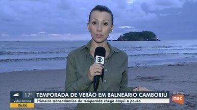 Primeiro transatlântico da temporada deve chegar nesta quarta (28) em Balneário Camboriú - Primeiro transatlântico da temporada deve chegar nesta quarta (28) em Balneário Camboriú