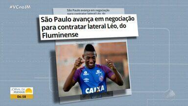 Bahia avança negociação de jogadores para o próximo ano - Veja os destaques do tricolor baiano.