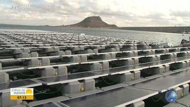 Energia solar: Sobradinho recebe projeto fotovoltaico de placas flutuantes - O projeto é uma parceria da Chesf e Eletronorte; saiba mais