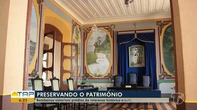 Bombeiros vistoriam prédios históricos de Santarém após solicitação do MP - É uma solicitação que visa garantir a segurança em todos os prédios histórico que tenham movimento e pessoas.