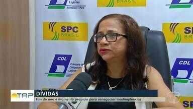 Fim de Ano é o período propicio para renegociar dívidas e ficar com o nome limpo - Cerca de 30% da população brasileira vai terminar o ano endividada, é o que apontam dados do IBGE.