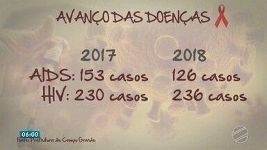 MS está entre os estados com aumento de mortes por AIDS no Brasil - Entre 2014 e 2017, as mortes cresceram 10%.