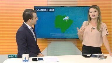 Confira a previsão do tempo para MS nesta quarta-feira - Bom Dia MS apresenta previsão para todas as regiões do estado.