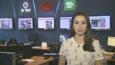Confira os destaques do G1 Sorocaba e Jundiaí desta quarta-feira - A repórter Mayara Corrêa traz os destaques do G1 Sorocaba e Jundiaí desta quarta-feira (28)