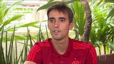 César, goleiro do Flamengo, faz balanço de 2018 e revela expectativas para 2019 - César, goleiro do Flamengo, faz balanço de 2018 e revela expectativas para 2019