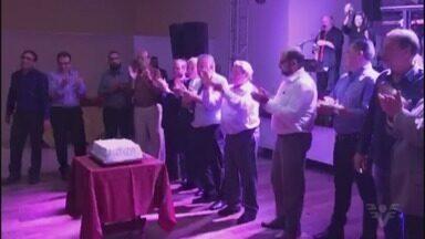 Jabaquara comemora 104 anos com jantar em Santos - Evento foi realizado no Vasco da Gama.