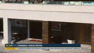 Prefeitura de Guaratuba afasta servidores suspeitos de usar câmeras para espionar mulheres - Até hóspedes de hotel foram espiados.