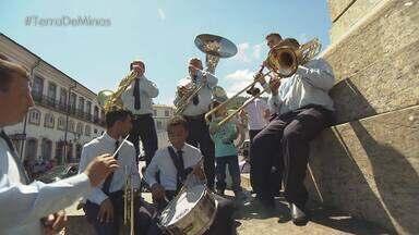 Projeto preserva a tradição de bandas e premia os novos talentos do estado - Curso oferecido pela Orquestra Ouro Preto selecionou 3 estudantes para uma imersão em São Paulo. Vencedores foram conhecidos em uma apresentação especial na cidade histórica.