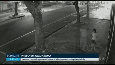Homem que esfaqueou ex-namorada em Umuarama é encontrado pela polícia - Ele estava foragido desde que a Justiça decretou a prisão preventiva dele.