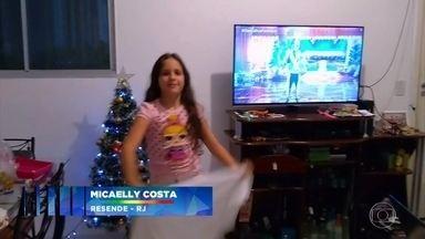 Fausto Silva apresenta o ´Criança Dança´ - Crianças de todo o Brasil enviam seus videos e mostram que também dançam.