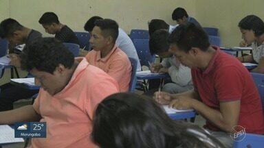 """'Aldeia à Prova"""": Unicamp faz vestibular exclusivo para indígenas pela 1ª vez - Prova do vestibular foi aplicada no domingo (2)."""