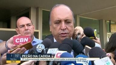 Investigação da Lava-Jato indica amizade de Luiz Fernando Pezão e empresários presos - O governador e os dois empresários foram a Paris, na França, juntos.