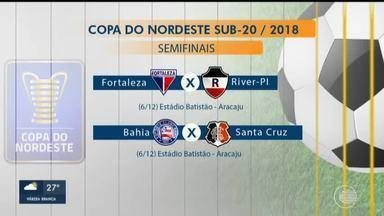 CBF define detalhes das semifinais da Copa do Nordeste sub-20 - CBF define detalhes das semifinais da Copa do Nordeste sub-20