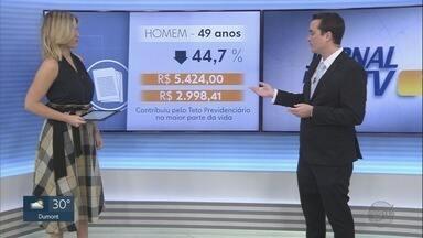 Aposentadoria por tempo de contribuição deve reduzir entre 30% e 40% - Especialista explica que a redução da expectativa de vida dos brasileiros afeta o valor dos benefícios concedidos.