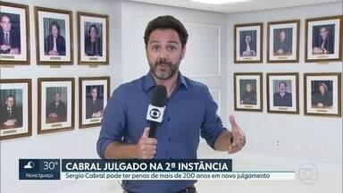 Sérgio Cabral é julgado na segunda instância - É a primeira vez que ex-governador é julgado no Tribunal Regional Federal.