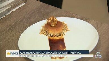 Evento em Manaus destaca a gastronomia continental - Evento incia hoje.