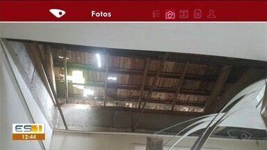 Situação de capela mortuária preocupa moradores de Araçuí, em Castelo - Prefeitura de Castelo disse que o projeto de reforma está pronto e será executado em breve, no ES