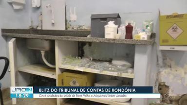 TCE -RO encontra irregularidades em unidades de saúde de Porto Velho e Ariquemes - Prefeitura diz que aguarda ser notificada oficialmente para tomar providências.