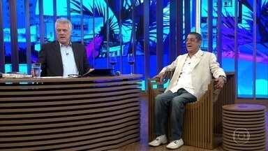 Zeca Pagodinho relembra entrevista que deu a Leda Nagle - Cantor afirma que não gosta de dar entrevistas na televisão