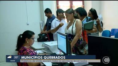 Prefeitura de União demite todos os servidores terceirizados - Prefeitura de União demite todos os servidores terceirizados