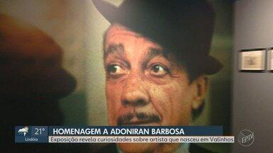 Em Cena: Exposição em São Paulo mostra a vida de Adoniran Barbosa - Compositor nascido em Valinhos é conhecido como o pai do samba paulista.