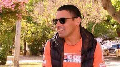 Ultramaratonista cego do RS encara prova na Antártica - Assista ao vídeo.