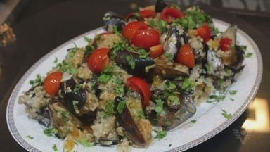 Arroz de marisco é uma boa opção para as festas de fim de ano - O Culinária 013 ensina o passo a passo desta receita, que é fácil de fazer para a família toda.