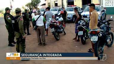 """Operação integrada em Santarém garante tranquilidade no feriado municipal - Ações foram denominadas """"Feriado na Paz"""" e ocorreram em pontos estratégicos do município."""