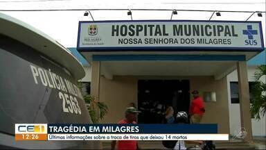 Milagres ainda vive sob clima de medo e tensão - Tentativa de ataque a dois bancos na cidade aterrorizou moradores do interior do Ceará. Seis reféns morreram
