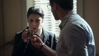 Lúcio ajuda Agnese a fugir - Cesária tenta proteje Nico e Kiki