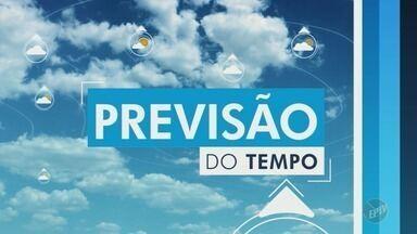 Confira a previsão do tempo para o final de semana em Campinas. - Confira a previsão do tempo para o final de semana em Campinas.