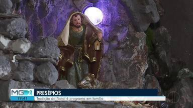 Confecção de presépios reúne beleza e fé - Tradição marca o nascimento do menino Jesus.