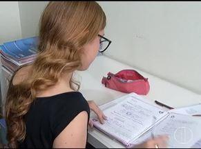 Estudantes mantêm foco há uma semana do PAES/ Unimontes - Mais de três mil candidatos vão fazer a prova.