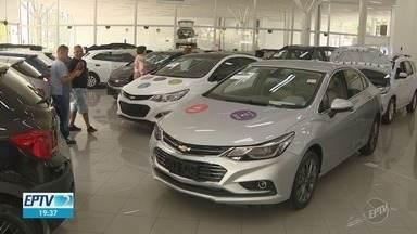 Venda de carros novos tem alta em Campinas - Clima é de otimismo para 2019.